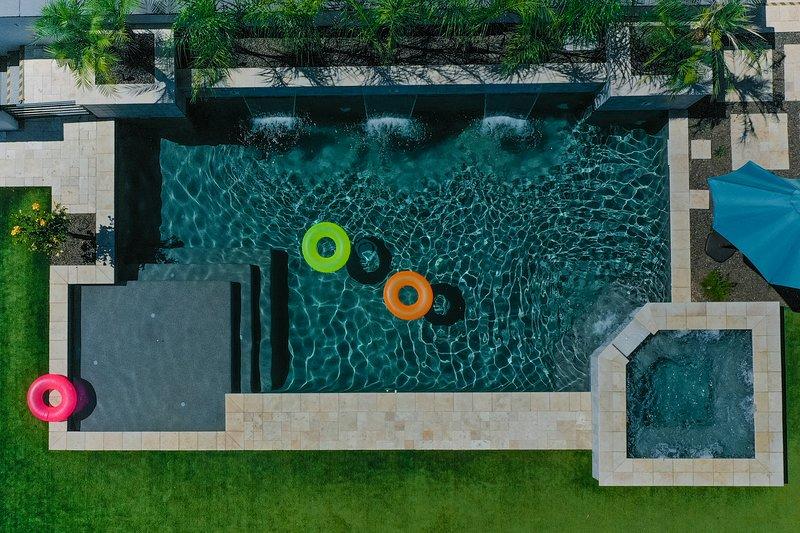Bird- eye view of Pool
