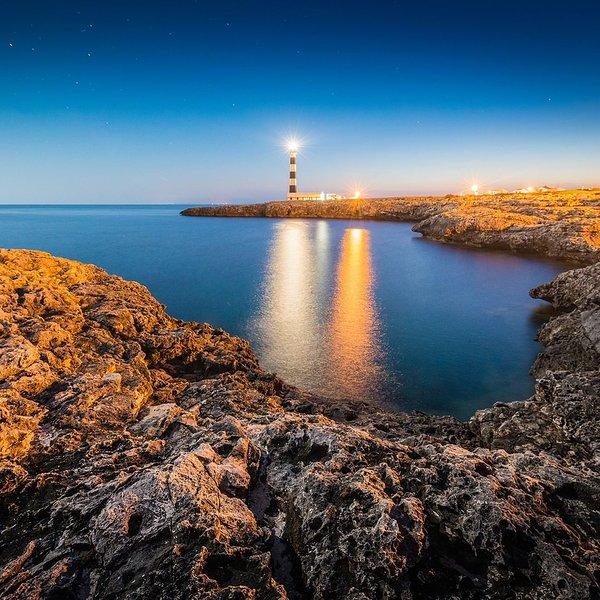 Apartamento junto al mar, 1 linea, Urb.Plaza del Faro-Tamarinda, alquiler de vacaciones en Menorca
