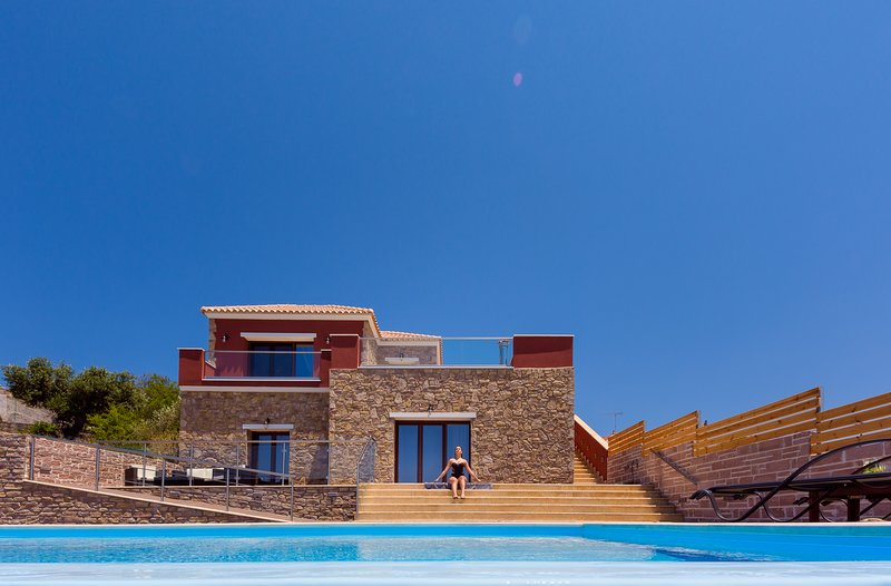 Entheos Private Villa, location de vacances à Fiscardo