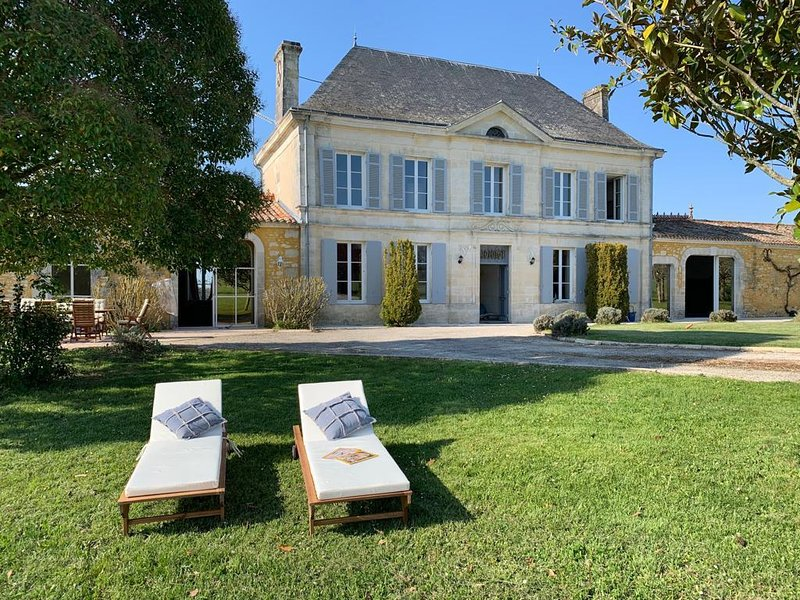 Luxury Chateau France - Pool, holiday rental in Saint Sigismond de Clermont