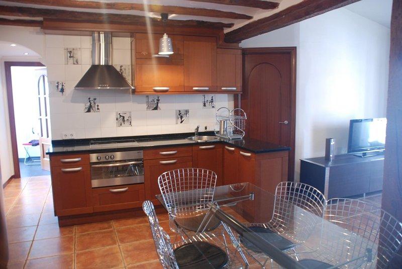 Apartamento Coqueto y muy céntrico, alquiler de vacaciones en Logroño
