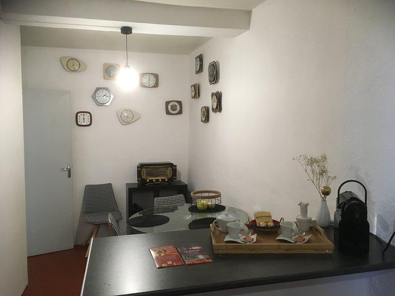Appartement N 4 avec balcons, alquiler de vacaciones en Cabestany