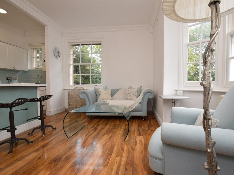 Stylish apartment with some lovely accessories featured throughout