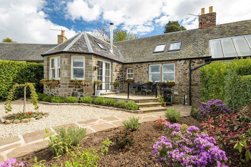 The Haven, Kirkton of Balmerino, near St Andrews, casa vacanza a Luthrie