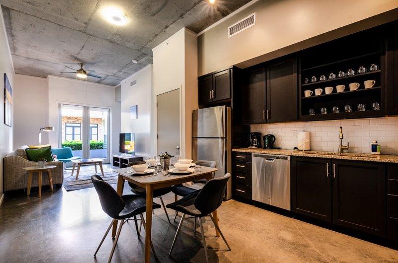 Área de cocina / comedor
