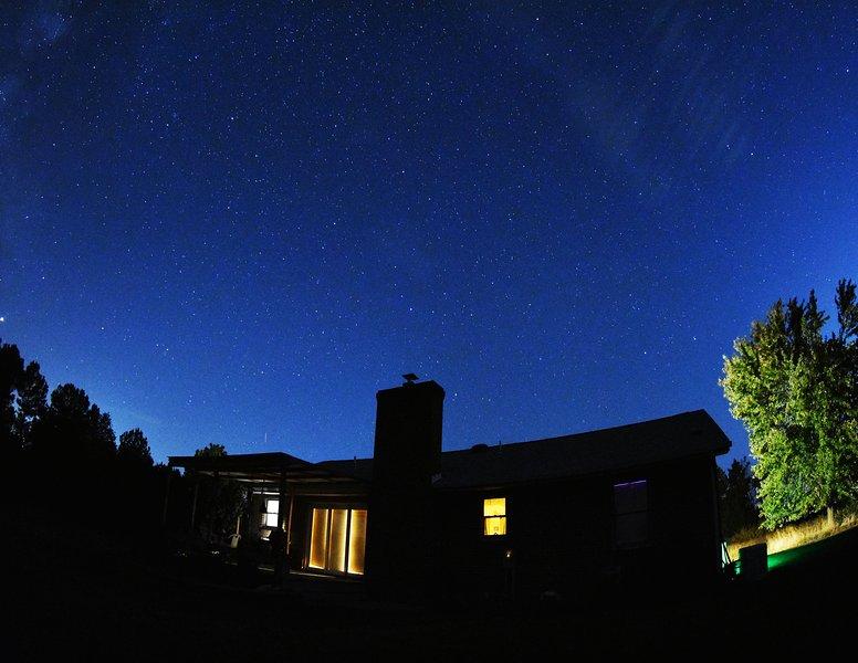Night sky at Rose Cottage ( credit our guestAl Davis)