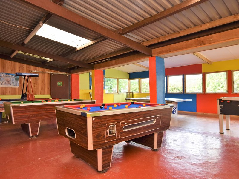 Enjoy hours of fun in the on-site games room