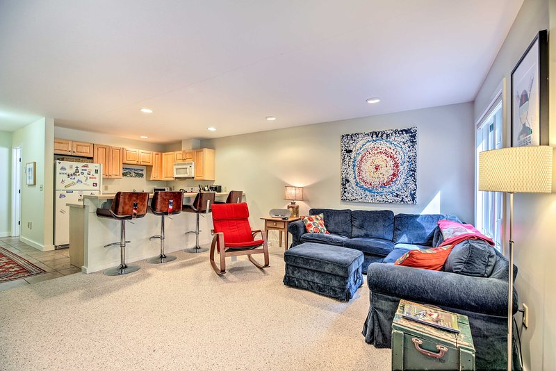 This vacation rental condo has everything you need.