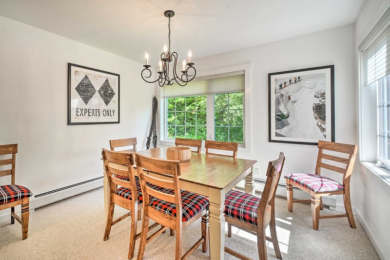 Dine together at this updated townhome in the West Dover area!