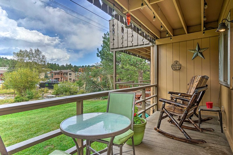Map out your Front Range retreat to this quaint 1-bed, 1-bath vacation rental!
