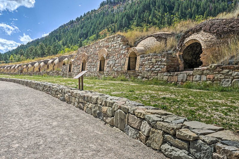 Learn about the coke ovens built in the 19th century!