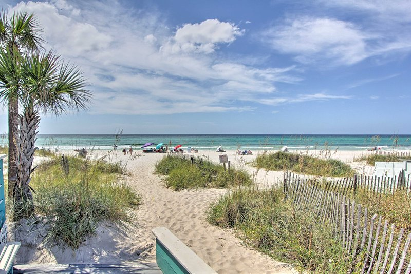 Pristine miles of beach await!
