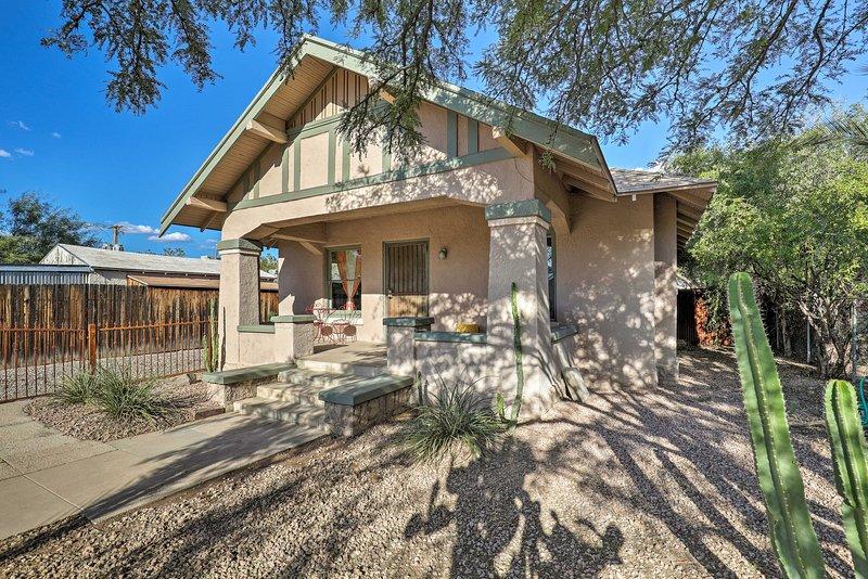 Il bungalow con 2 camere da letto e 1 bagno offre la migliore esperienza di Tucson.