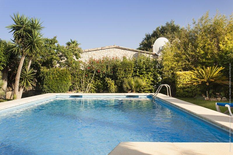 Fontxica, vacation rental in Cala San Vincente