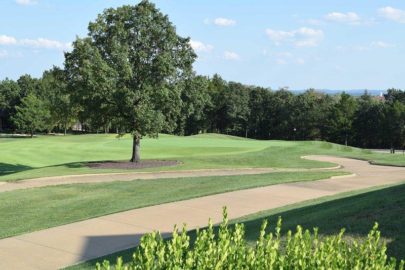 C'est vraiment le paradis des golfeurs!