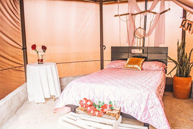 Camping de Lujo (Glamping) - Parador La Mesa Redonda, aluguéis de temporada em Aratoca