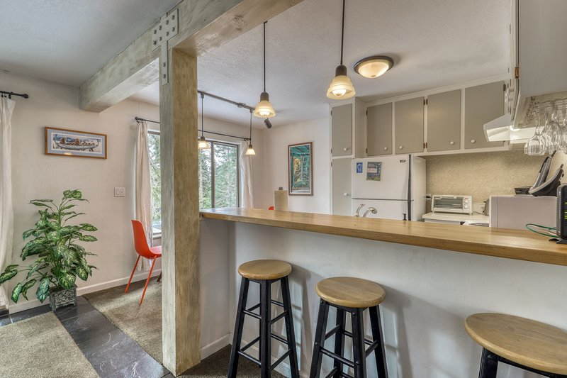 Photo of Dog-friendly condo with mountain views, a deck, and a free shuttle to skiing!