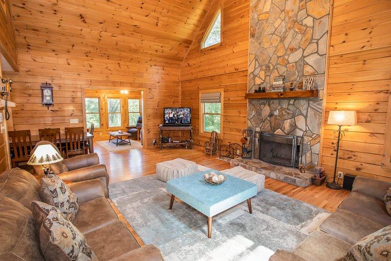 Fireside Lodge, location de vacances à Beech Mountain