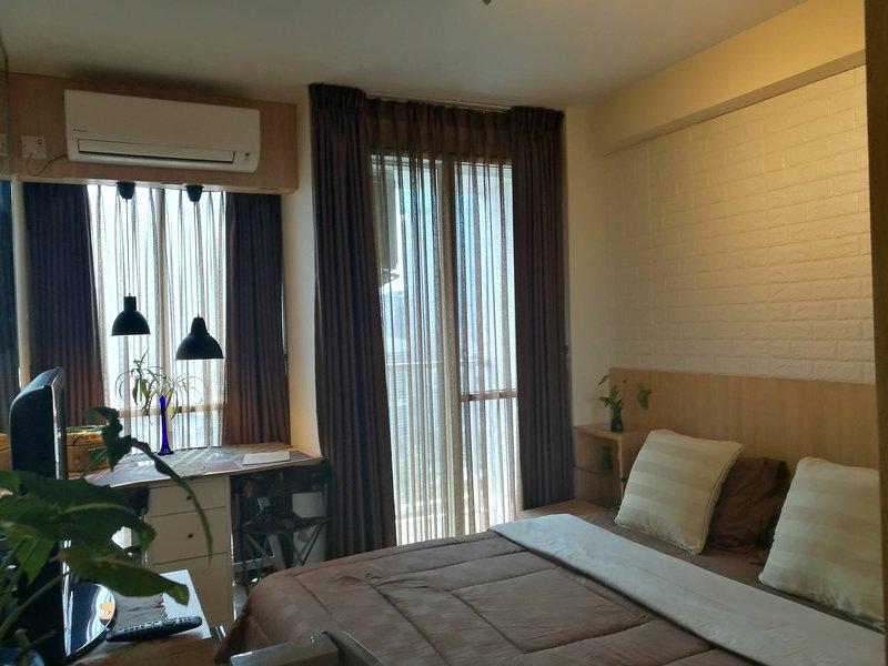 Pleasanttifolia , 1br, New Room In Kelapa Gading, holiday rental in Cikarang