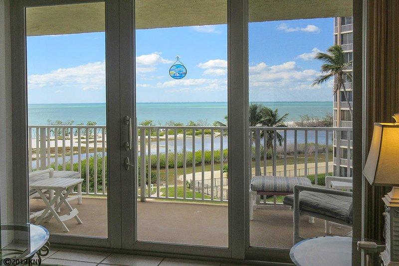 Estero Beach & Tennis 407A - Fabulous Direct Gulf View from Balcony
