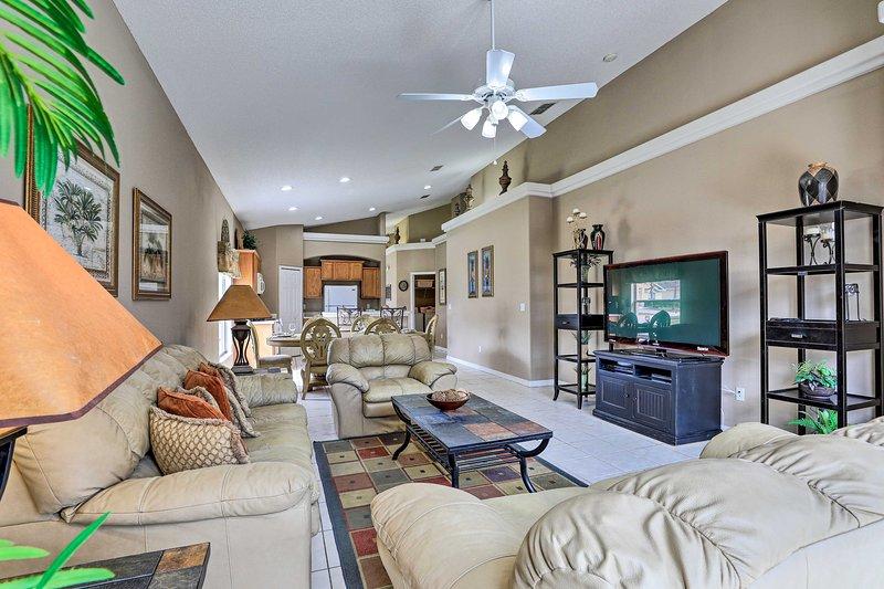 ¡Siéntase como en casa dentro de esta casa de vacaciones en Clermont!
