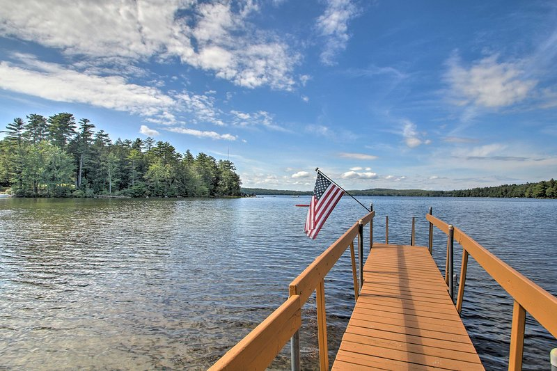 Family Cabin w/Beach Access on Panther Pond, vacation rental in Raymond