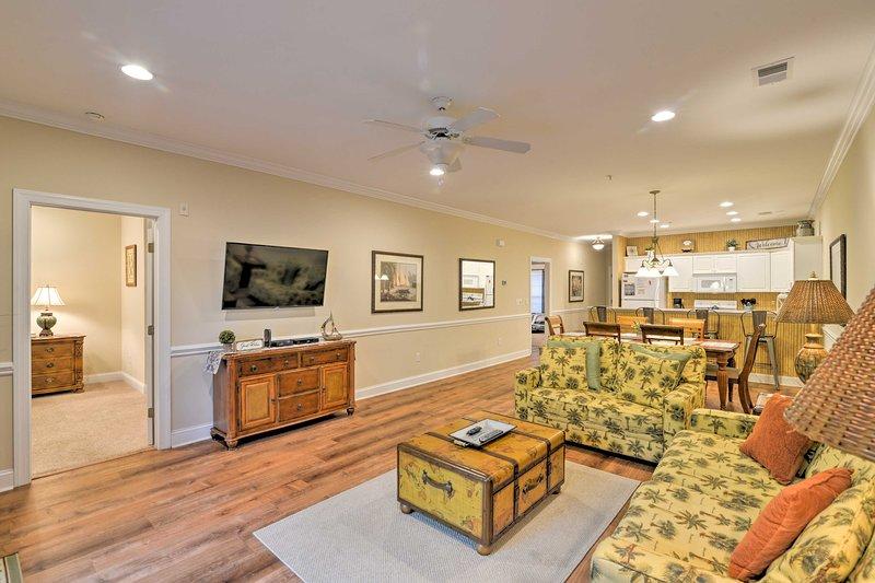 Vacation rental condo - Murrells Inlet - Located in the Tupelo Bay Golf Villas