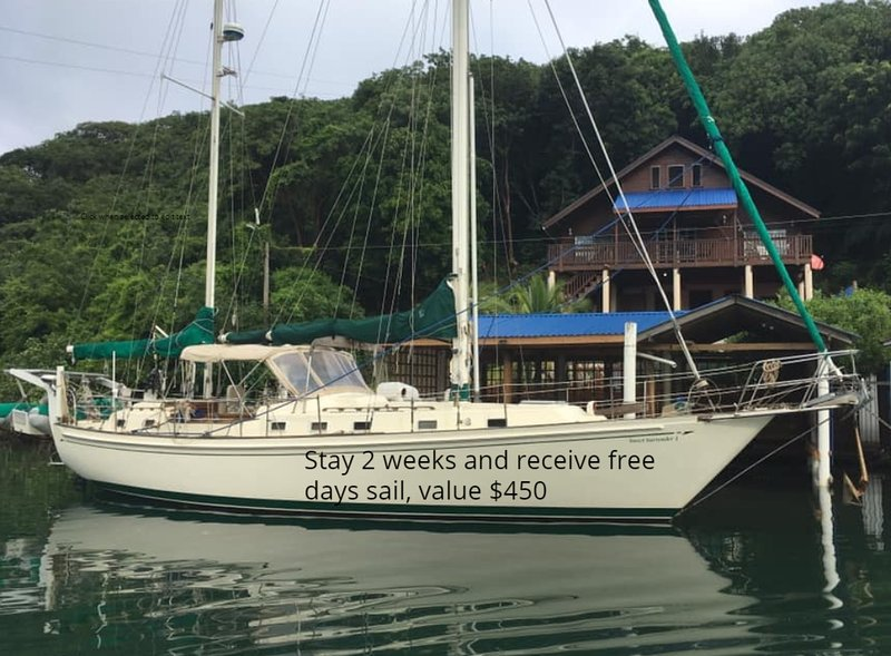 Blue Rock Vacations Upper, East End Roatan,  Special offer Free day sailing $450, vacation rental in Politilly Bight