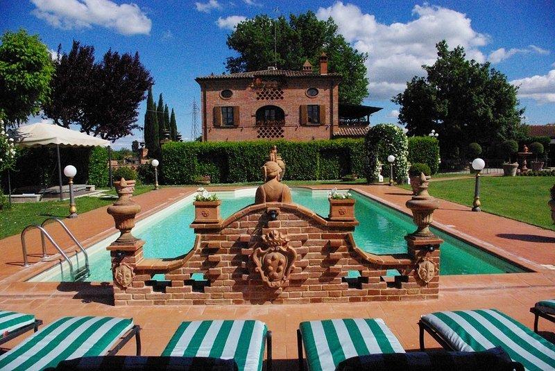Villa Portoverde, location de vacances à Foiano Della Chiana