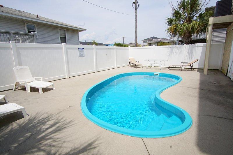 Água, piscina, piscina, cadeira, móveis