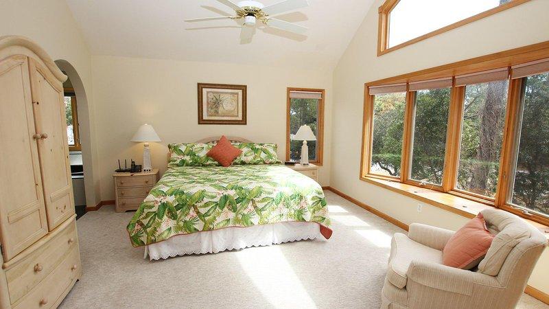 Ventilador de techo, interior, dormitorio, sala, muebles