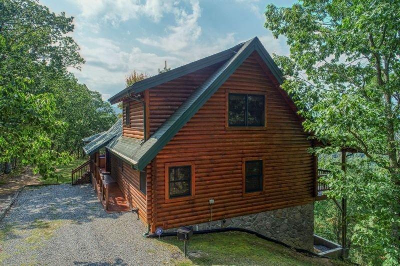 Costruzione, casa, cabina, cottage, casetta