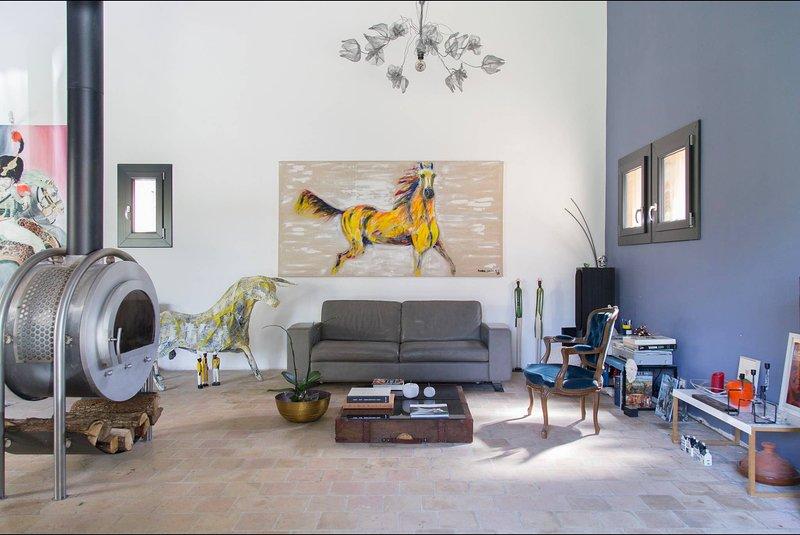 Suite L'escapade Artistique, holiday rental in Pierrelatte