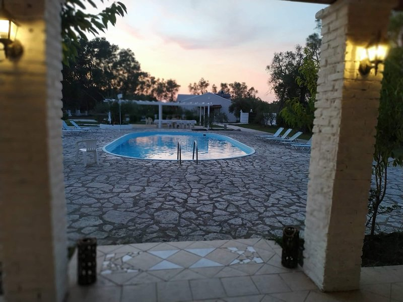 Alykes Family resort double room, vacation rental in Lefkimi