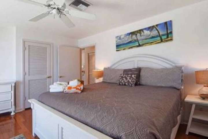 Master Bedroom with Intracoastal View