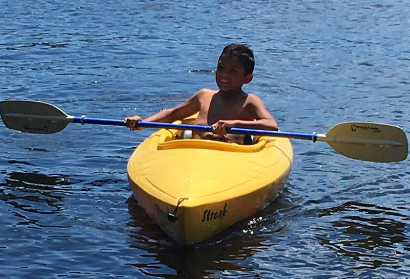 For young or young at heart Great for first time kayakers or experienced kayakers