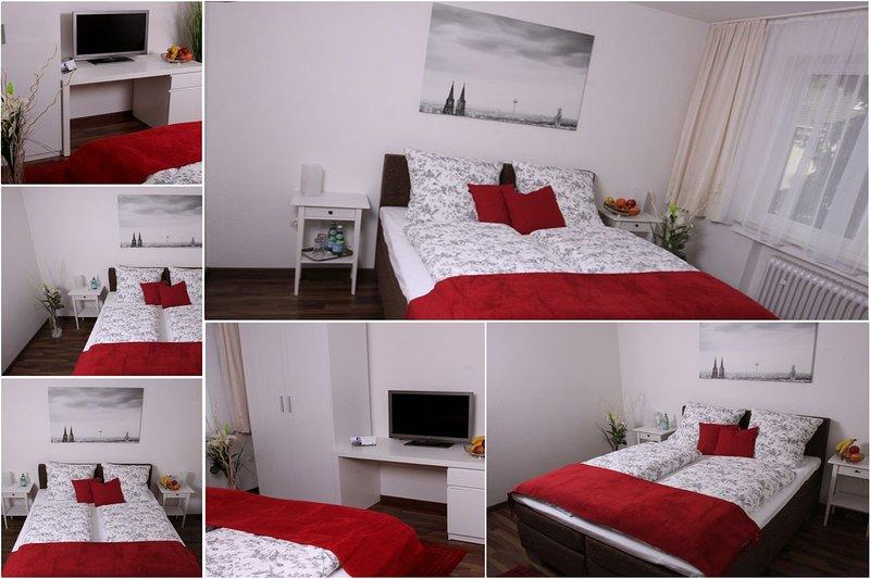 Köln Porz Wahnheide 1 Zimmer Apartment Küche Diele Bad 1-2 Personen Cologne, vacation rental in Hennef