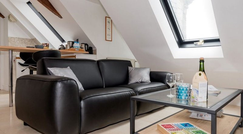 Beautiful apartment with garden, vacation rental in Quimper