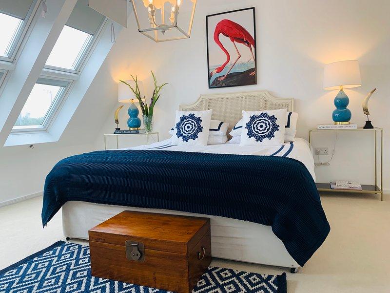 Master Bedroom 1 - super king bed + single guest bed