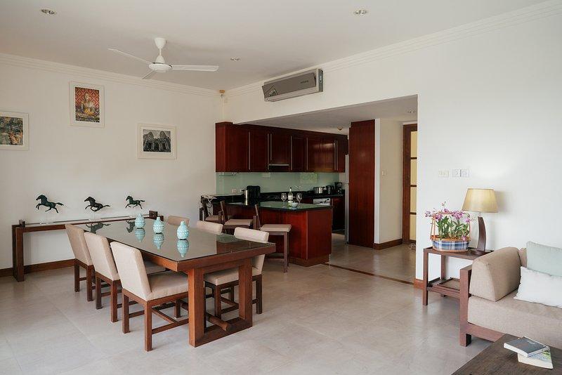Open Plan Lounge/Kitchen/Dining