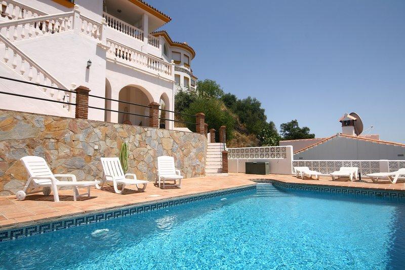 1222 - 3 bed Villa, private pool and garden, Monda - 1222, alquiler de vacaciones en Tolox