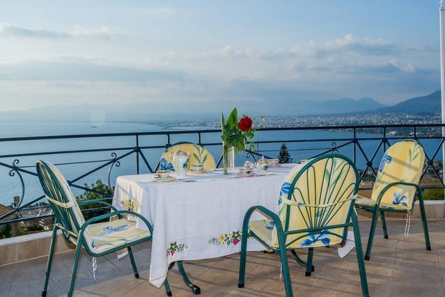 Enjoy the view from the terrace