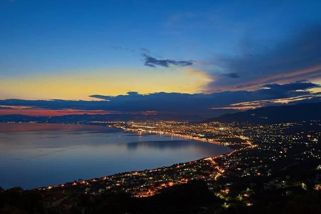 View of Kalamata from above