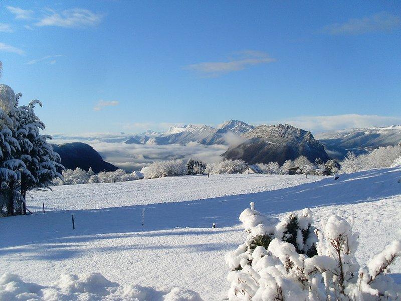 havre de paix en montagne, holiday rental in La Sure en Chartreuse
