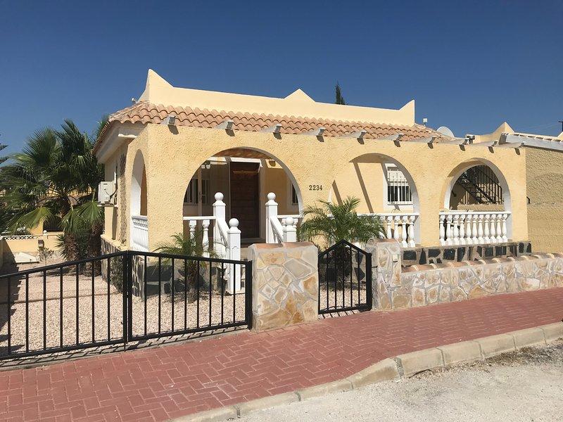 Casa Gwendolina, alquiler de vacaciones en Mazarrón