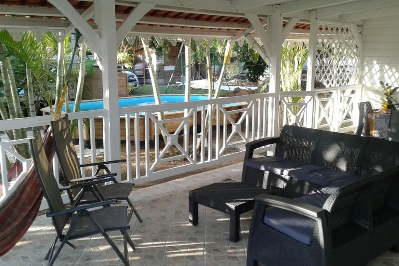 Apartment with swimming-pool, holiday rental in Le Vauclin