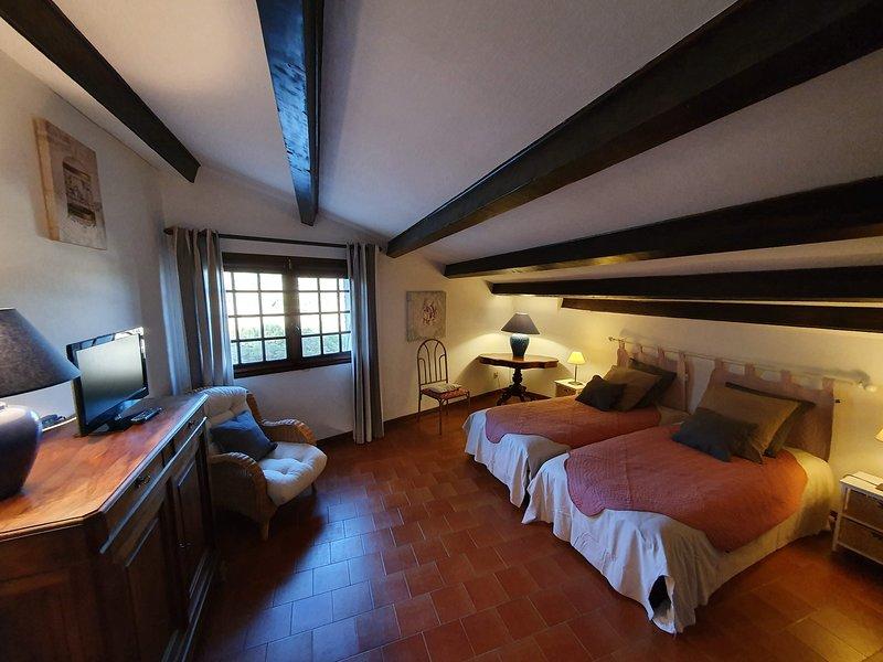 La suite du Cladan - Chambre + cuisine/salon + terrasse, entièrement indépendant, vacation rental in Saint-Andre-de-Rosans