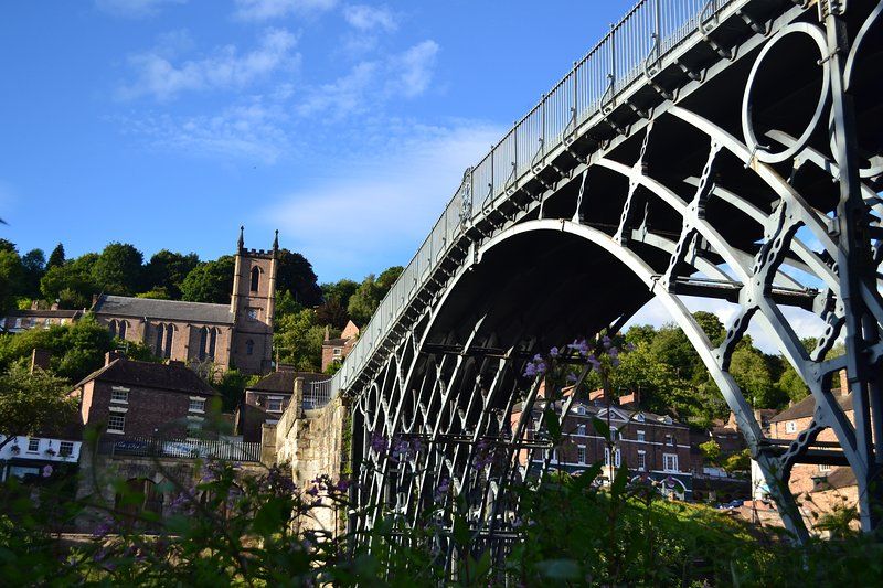 Ironmasters House with views of the Iron Bridge., Ferienwohnung in Ironbridge