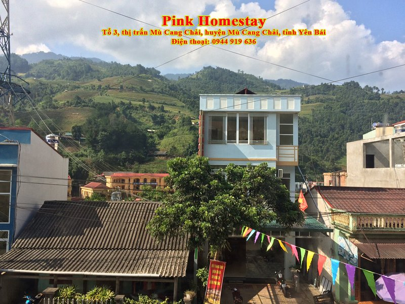 Pink Homestay, alquiler vacacional en Mu Cang Chai