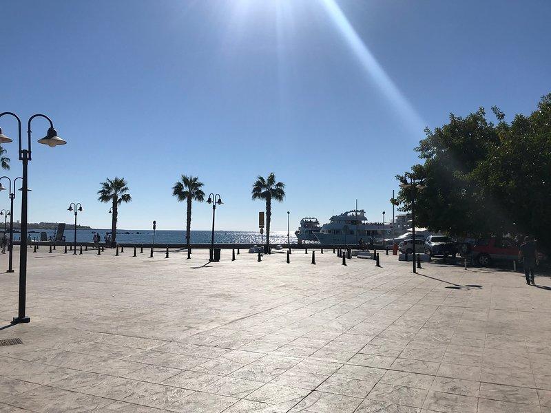Sempre há algo para ver e fazer no porto de Paphos